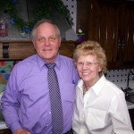 Ken with Mrs. Arlene Frelk